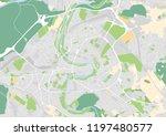 vector city map of bern   Shutterstock .eps vector #1197480577