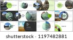 minimal presentations design ... | Shutterstock .eps vector #1197482881