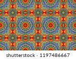 abstract seamless pattern of a... | Shutterstock . vector #1197486667