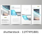 the minimalistic abstract... | Shutterstock .eps vector #1197491881