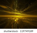 Golden Chaos   Abstract...
