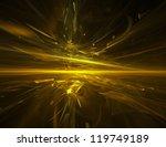 Golden Chaos   Abstract...