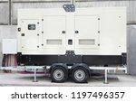 backup generator  othe trailer... | Shutterstock . vector #1197496357
