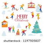 vector christmas design for... | Shutterstock .eps vector #1197505837