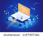 software  web development ... | Shutterstock .eps vector #1197507181