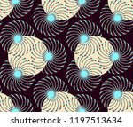 graphic floral tracery grid... | Shutterstock .eps vector #1197513634