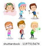suffering patients with... | Shutterstock .eps vector #1197515674