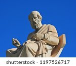 extreme zoom of iconic statue... | Shutterstock . vector #1197526717