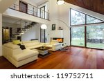 designer's house with entresol... | Shutterstock . vector #119752711