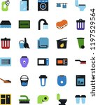 vector icon set   soap vector ... | Shutterstock .eps vector #1197529564