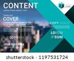 presentation layout design... | Shutterstock .eps vector #1197531724