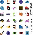 vector icon set   joystick... | Shutterstock .eps vector #1197534247
