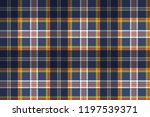 color tartan fabric texture... | Shutterstock .eps vector #1197539371