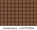 milk  chocolate bar vector | Shutterstock .eps vector #1197570334