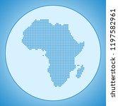 map of africa | Shutterstock .eps vector #1197582961