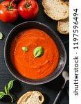 tasty appetizing creamy tomato... | Shutterstock . vector #1197596494
