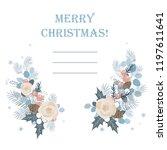 christmas background. christmas ...   Shutterstock .eps vector #1197611641
