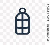 bird cage vector icon isolated... | Shutterstock .eps vector #1197614971