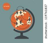 network | Shutterstock .eps vector #119761837