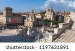 rome   italy   09 01 2018  the...   Shutterstock . vector #1197631891