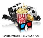 illustration for the film... | Shutterstock .eps vector #1197654721