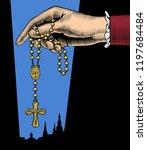 catholic publication teamplate...   Shutterstock .eps vector #1197684484