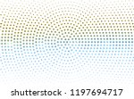 light blue  red vector pattern... | Shutterstock .eps vector #1197694717