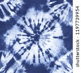 Abstract Tie Dyed Fabric Of...