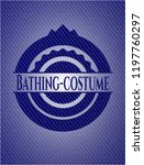 bathing costume emblem with...   Shutterstock .eps vector #1197760297