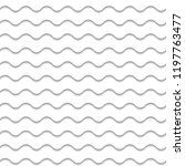 seamless waves pattern | Shutterstock .eps vector #1197763477