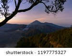 majestic view of mountains at... | Shutterstock . vector #1197775327
