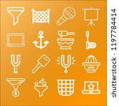 tool icon set   outline... | Shutterstock .eps vector #1197784414