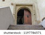 bran  brasov  transylvania ... | Shutterstock . vector #1197786571