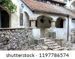 bran  brasov  transylvania ... | Shutterstock . vector #1197786574