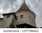 bran  brasov  transylvania ... | Shutterstock . vector #1197786601