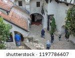 bran  brasov  transylvania ... | Shutterstock . vector #1197786607