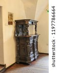 bran  brasov  transylvania ... | Shutterstock . vector #1197786664