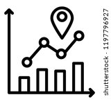 location analysis in graph... | Shutterstock .eps vector #1197796927