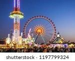 munich  germany   october 4 ...   Shutterstock . vector #1197799324