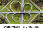 aerial view of highway... | Shutterstock . vector #1197823501