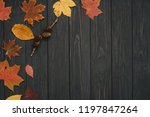 background texture with old... | Shutterstock . vector #1197847264