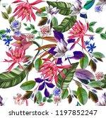 flowers are full of romance the ... | Shutterstock . vector #1197852247