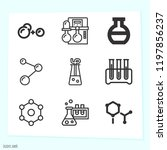 simple set of 9 icons related... | Shutterstock .eps vector #1197856237