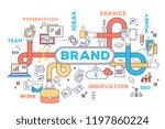 multitasking management of... | Shutterstock .eps vector #1197860224