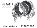 illustration of woman with... | Shutterstock .eps vector #1197862207