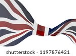 waving flag of the great... | Shutterstock . vector #1197876421