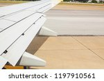 angle view on plane thailand at ... | Shutterstock . vector #1197910561