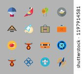 fly icon set. vector set about... | Shutterstock .eps vector #1197914581