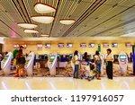changi airport  singapore  ... | Shutterstock . vector #1197916057