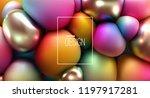 abstract cover design. modern... | Shutterstock .eps vector #1197917281